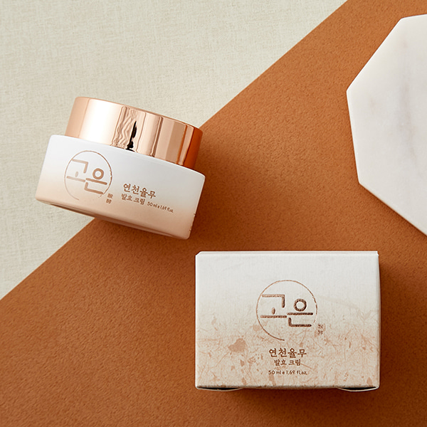[DAYCELL] GOUN Yeoncheon Yulmu(adlay) Fermented Cream 50ml - Special Care Professional Cosmetics, DAYCELL!