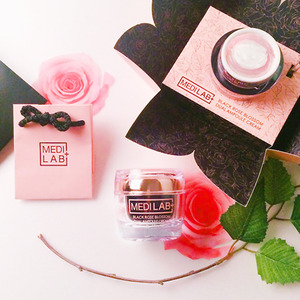 [DAYCELL] MEDI LAB Black Rose Blossom Dual Ampoule Cream 50ml - Special Care Professional Cosmetics, DAYCELL!