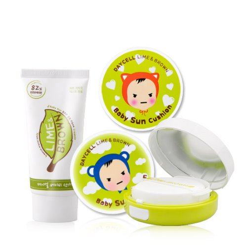 [DAYCELL] Lime&Brown baby sun Cushion D.I.Y 50ml / For Boys or Girls 1 - Special Care Professional Cosmetics, DAYCELL!